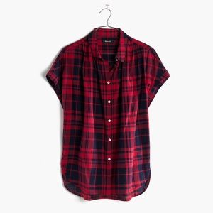 Madewell Central Shirt Bushwick Plaid